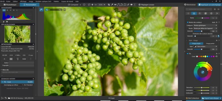 Developing with PhotoLab Essential