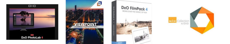 DxO software packages